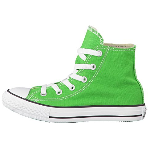 Converse Chuck Taylor Hi Canvas Seasonal mixte enfant, toile, sneaker high Vert