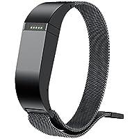 """iTerk per Fitbit Flex bande, braccialetto in acciaio inossidabile maglia milanese loop magnetico fibbia Wristband di ricambio con telaio in metallo regolabile, Cruz V2 Fresh Foam, 6.29""""-9.25"""""""