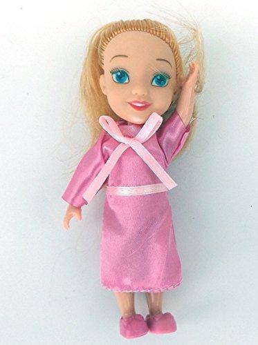 5 Stück MyFairy Minis© Prinzessinnen Puppe mit Puppenkleidung, 11cm - 4