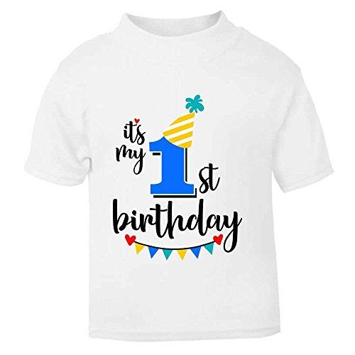 It 's My 1st ersten Geburtstag T-Shirt Kinder, die Kinder T Shirt Jungen Größe Kuchen Smash