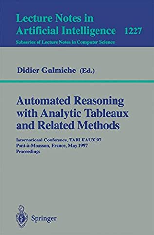 Automated Reasoning with Analytic Tableaux and Related Methods: International Conference,