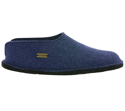 Haflinger Flair Smily, Chaussons femme Blau