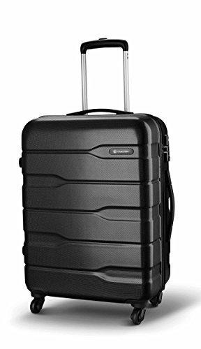 Carlton Gepäck Set of 3 oder Einzeln Koffer - Kabinenkoffer Sets oder einzeln koffer CAYENNE - 4 Rollen Spinner-modell Koffer inklusive Hand Gepäck Größe S 55cmx38x21, M 65cm, I 75cm Graphitgrau