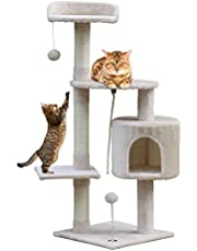 Callas RioAndMe Cat Tree Toy with 4 Platforms Rope and Scra