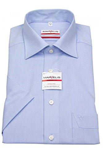 Marvelis -  Camicia classiche  - Maniche corte  - Uomo Blu chiaro