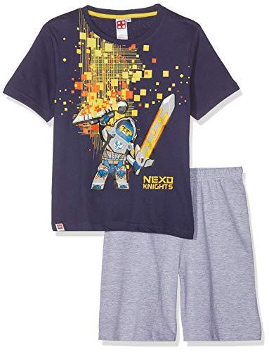 LEGO Jungen 5538 Zweiteiliger Schlafanzug, Marine blau, 116 - Marine-blau-jungen-schlafanzug