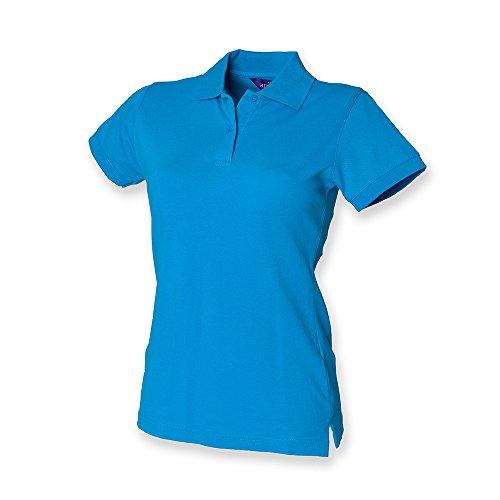 Henbury - Polo -  - Polo - Col polo - Manches courtes Femme Blau - Sapphire