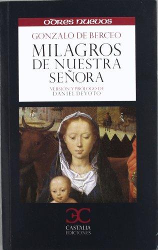 Milagros de Nuestra Señora (ODRES NUEVOS, O/N. (nuevo formato)) por Gonzalo de Berceo