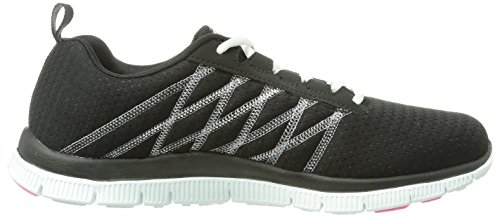 Skechers  Flex Appeal Simply Sweet, Sneakers Basses femme Black/White