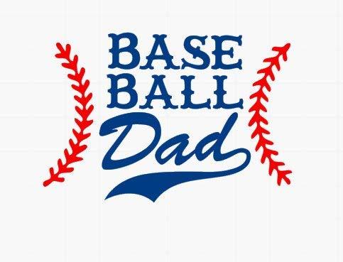 Celycasy Baseball Dad // Baseball Sticker //