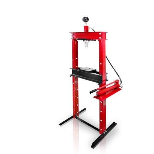 Preisvergleich Produktbild Holzinger Werkstattpresse - HWP20T-M, 20T, 90-1035mm mit Manometer