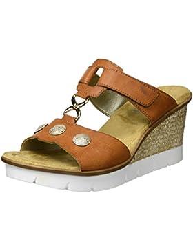 Rieker Damen 65592 Wedge Sandal
