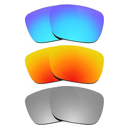 Revant Ersatzlinsen für Spy Optic Helm Polarisiert 3 Paar Kombipack K014