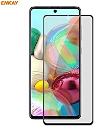 ALISHI ACD For Samsung Galaxy A71 Hat-Prince 0.26mm 9H 6D Privacy Anti-spy Full Screen Tempered Glass Film