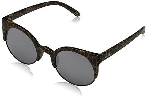 vans Women's HALLS & WOODS SUNGLASSES Sunglasses, Multicolour (Cheetah)