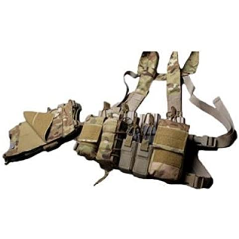 Haley Strategic Partners Disruptive Environments D3CR-H Heavy Chest Rig, MultiCam D3CR-HMulticam by Haley Strategic Partners