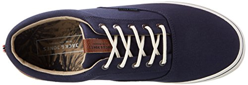 JACK & JONES Herren Jfwvision Mixed Navy Blazer Low-Top Blau (Navy Blazer)