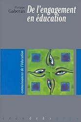 De l'engagement en éducation