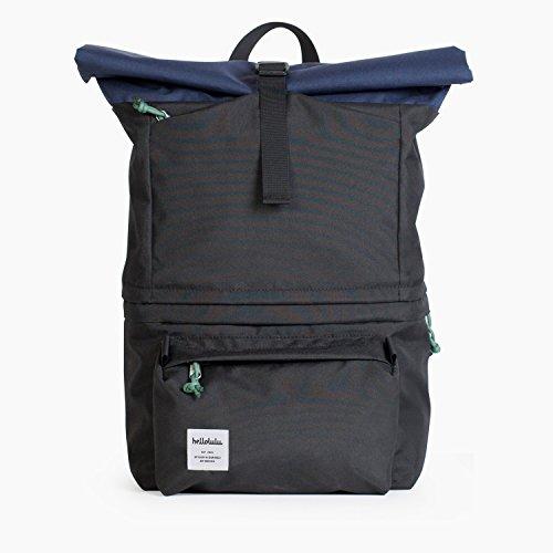 Hellolulu Fotorucksack, Poplar DSLR Camera Backpack Navy/Black, Polyester, DSLR Fotorucksack mit Laptopfach