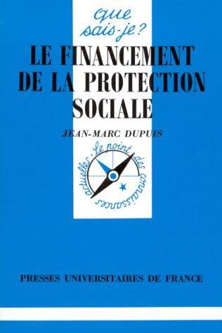Le fincancement de la protection sociale