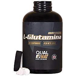 L-Glutamina ✔️Más Masa Muscular ✔️Fuerza y Energía Suplemento Deportivo 360 comprimidos