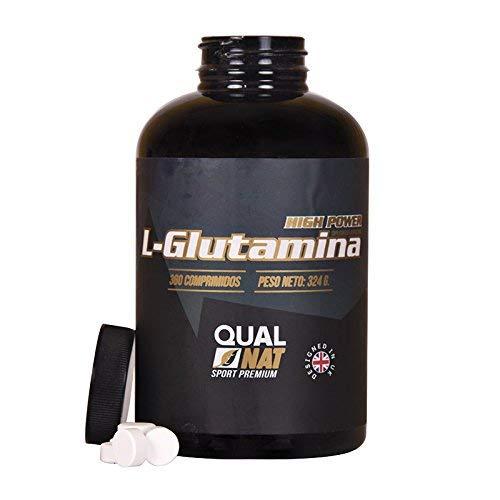 L-Glutamina Más Masa Muscular Fuerza y Energía Suplemento Deportivo 360 comprimidos