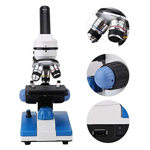 Microscopio de ciencias biológicas