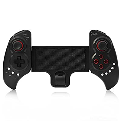 Wireless Bluetooth Game Controller Gamepad Joystick with Stretch Bracket for iPhone 6 Plus iOS Android System
