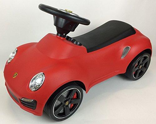 BUSDUGA - Porsche 911 TURBO S , Rutscher , Kinderfahrzeug - wählen Sie ihre Farbe (rot)