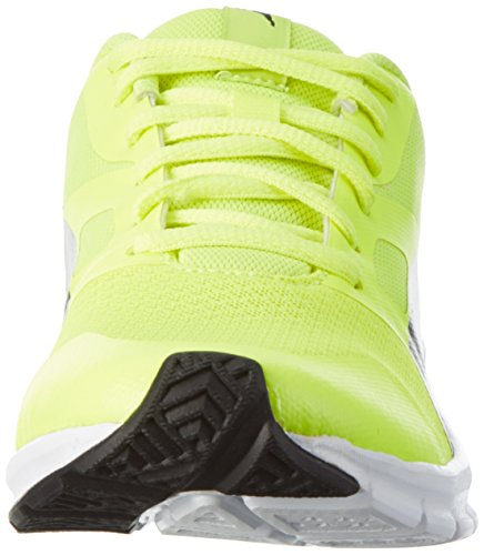 Puma Flexracer, Sneakers Basses Mixte Adulte Jaune (Safety Yellow-puma Black 22)