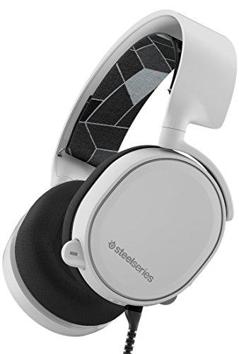 SteelSeries Arctis 3, Gaming-Headset, Kompatibel mit allen Plattformen, PC / Mac / PlayStation 4 / Xbox One / Nintendo Switch / Android / iOS / VR, Farbe Weiß
