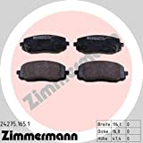 ZIMMERMANN 24275.165.1Serie Bremsbeläge, vorne, 2Sensoren Akustische, inklusive Platte dämpfend