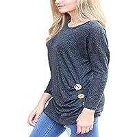 ZYZHjy Women 'S Wear T - Shirt,Gray,M.