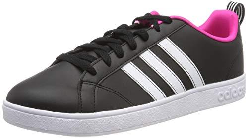 release date 5d8e6 ca0d7 adidas Damen VS Advantage Fitnessschuhe, Schwarz (Negbás Ftwbla Rosimp 000),