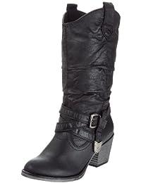 Rocket Dog Sidestep - Botas para mujer, Negro (Black), 39