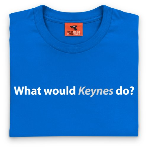 Square Mile Keynes T-Shirt, Herren Royalblau