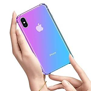 Oihxse Cristal Case – Compatible con Samsung Galaxy Note 10 Pro/Note 10 Plus Funda, Ultra-Delgado Silicona TPU Suave…