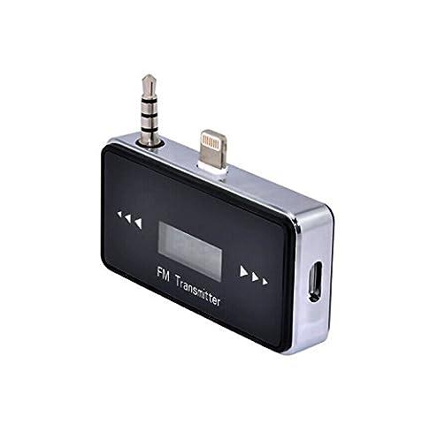 8broches Voiture sans fil Transmetteur FM mains libres pour iPhone 5