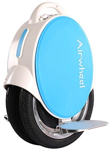 Einrad E-Board (Monowheel) - Airhweel Q5 - Weiß/Blau 260Wh | Elektrisches Einrad | 2x14 Zoll - 450 Watt - 30km Reichweite