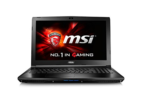 "MSI GL62 6QC Notebook da Gaming, Display 15.6"", i5-6300HQ, RAM 8 GB, HDD 1024 GB, GeForce 940Mx [Layout Italiano]"