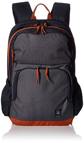 Volcom Roamer Backpack - Zaini Uomo, Blau (Navy), 17x32x47 cm (B x H T) Blu (Navy)