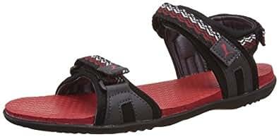 Puma Unisex Zoom Idp Puma Black, Asphalt and High Risk Red Athletic & Outdoor Sandals - 10 UK/India (44.5 EU)