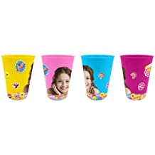 Soy Luna Soy Set 4 Vasos plastico (Suncity SLA102265)