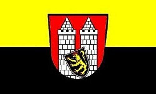 (U24 Aufkleber Hof Flagge Fahne 12 x 8 cm Autoaufkleber Sticker)