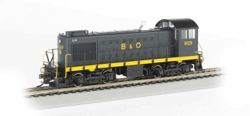Bachmann Industries B and O 9129 ALCO S2 Diesel Locomotive Car