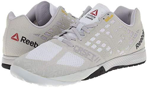 Reebok-Crossfit-Nano-50-Trainers-Beige-Mens-Casual-Fashion-Sneakers-Shoes
