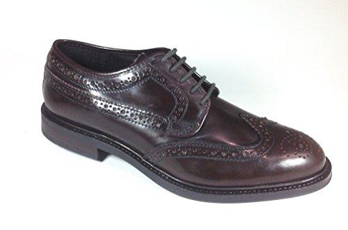 Sconosciuto , Chaussures de ville à lacets pour homme Marron Marrone Marron - Bordeaux