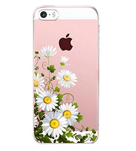 iPhone SE Hülle, Liquid Crystal Hülle iPhone 5 Silikon hülle TPU Case Ultra Slim Cover Weich TPU Bumper Schutzhülle für Apple iPhone 5S Case Cover (3, iPhone SE / iPhone 5S / iPhone 5 4.0