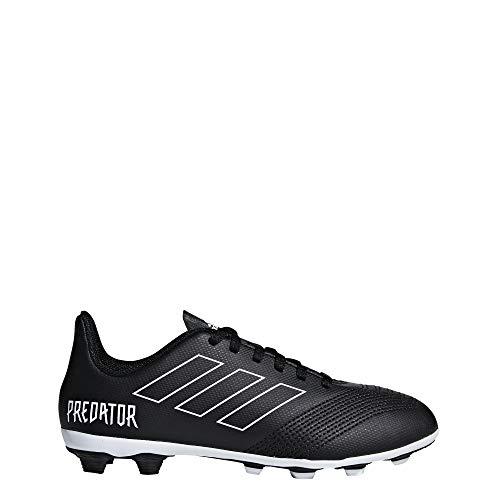 adidas Unisex-Kinder Predator 18.4 FxG Fußballschuhe Schwarz (Negbás/Ftwbla 000) 33 EU
