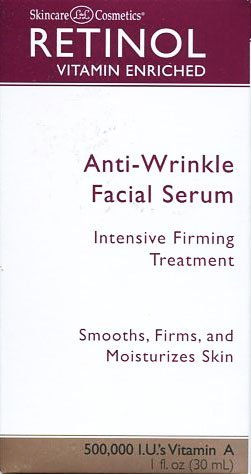 Skincare LdeL Cosmetics Anti-wrinkle Facial Serum Intensive Firming Treatment 1 Fl Oz